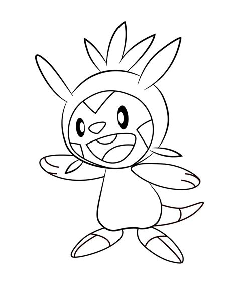 drawing pages free coloring pages of chespin