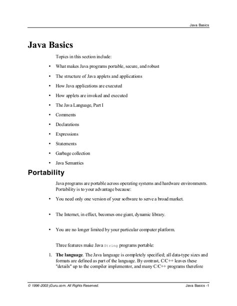 java tutorial kvr notes java programming basics notes for beginners java