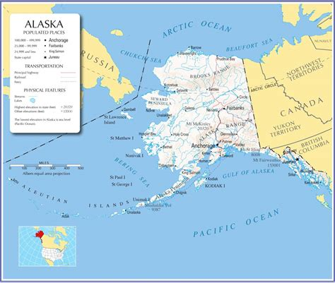 map usa with alaska alaska states list images