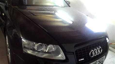 Reparaturanleitung Audi A6 4f by Xenon Birne Wechseln Audi A6 Avant 2 7 Tdi 4f Left