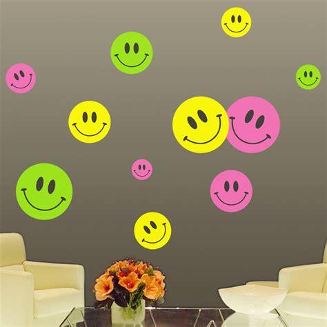 Smiley Deco Sticker by Stickers Muraux Pour Les Enfants Sticker Smileys De 3