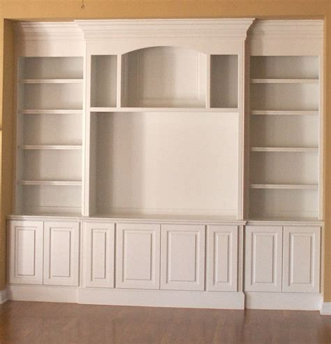 Shelf Designs by Built In Bookshelf Design Plans 187 Woodworktips