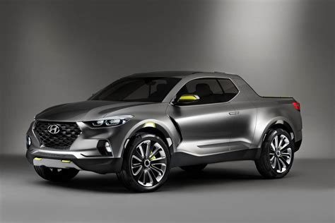 hyundai vehicles hyundai santa cruz pickup concept revealed in detroit