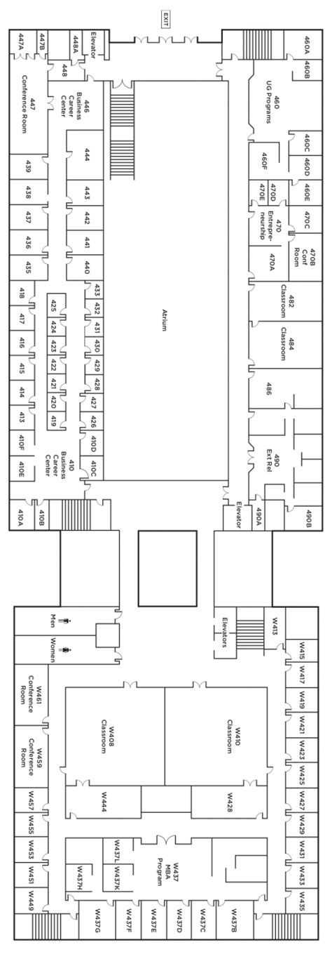 Byu Mba Placement by Building Map Byu Marriott School Of Business