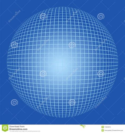 sphere pattern in nature blank sphere with grid pattern stock photography image