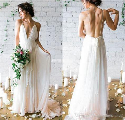 discount boho wedding dress  newest sexy backless