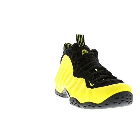 chaussure de basket nike air foosite one premium homme noir jaune vente chaussures nike