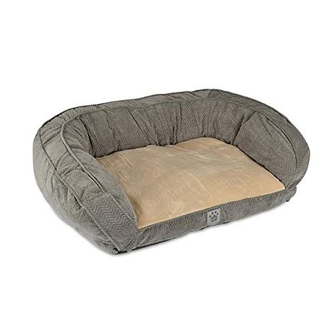 small blue couch small blue gray couch bolster dog bed