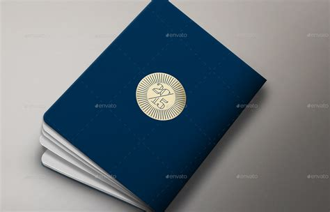 Ready Cover Passpor Edisi passport booklet photo realistic mock up by ina717 graphicriver