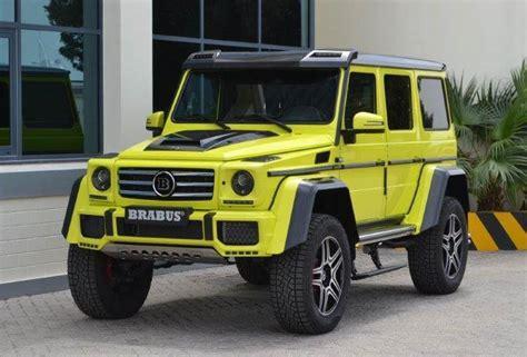 Mercedes G500 4x4 Price by Brabus Mercedes G500 4x4 In Uae