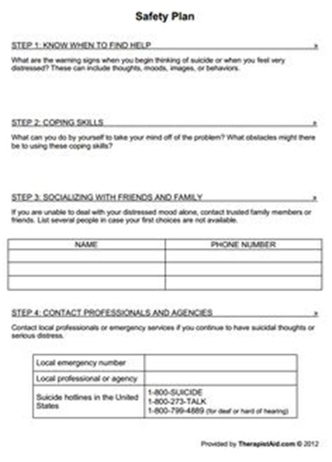 Seeking Safety Worksheets by Seeking Safety Worksheets Worksheets Releaseboard Free