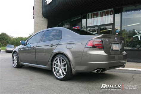 Tires For Acura Tl by Acura Tl Custom Wheels Tsw Portier 20x Et Tire Size