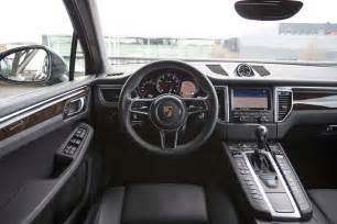 Porsche Macan Interior 2015 Porsche Macan Turbo Interior 308205 Photo 31