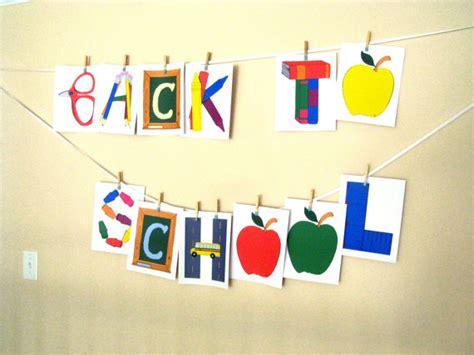 printable school banner items similar to back to school banner pdf printable