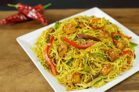 singapore noodles recipe dishmaps