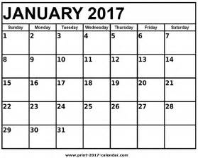 blank 5 day calendar printable blank calendar 2017
