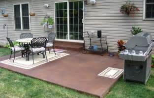Small Concrete Patio Designs Great Small Concrete Patio Design Ideas Patio Design 278