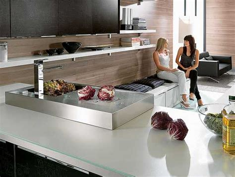 stylish kitchen countertop materials modern kitchen
