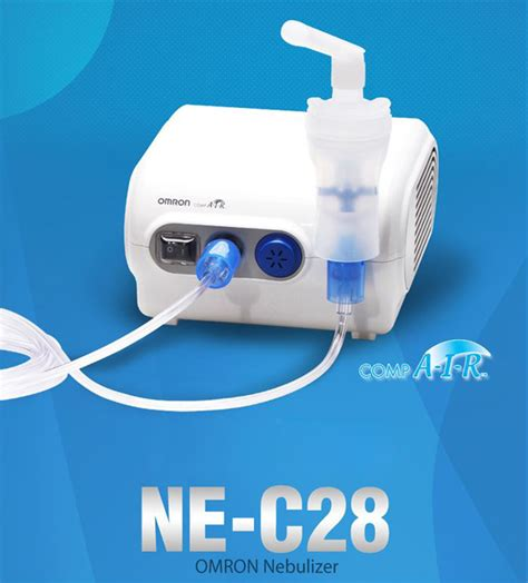 Nebulizer Ommron C 28 omron nebulizer ne c28 for family use respiratory therapy ebay