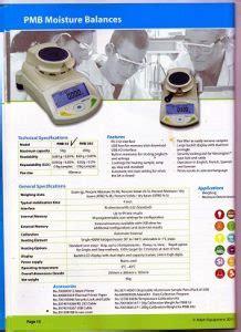 Timbangan Obat Manual moisture balance harga timbangan