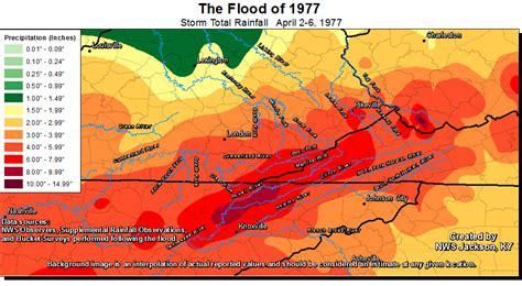 kentucky flooding map the east kentucky flood of april 1977