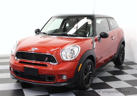 Used Mini Cooper Paceman 2015 Used Mini Cooper Paceman Certified Paceman S All4 Awd