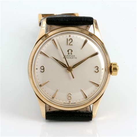 Omega Sidney buy 9ct automatic vintage omega from 1956 sold items