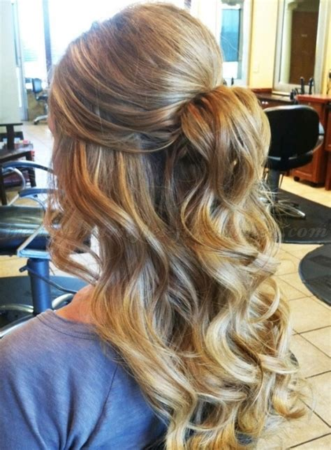 homecoming hairstyles for long hair half up half up half down hairstyles half up half down hairstyle