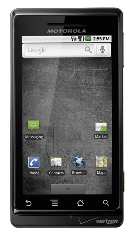 verizon android verizon motorola droid android 2 0 phone now official itech news net
