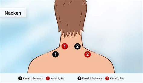 Nacken Schulter by Tens Ger 228 T Anwendung F 252 R Einen Schmerzfreien Nackentens