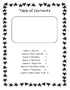 all about me book template teacherspayteachers com