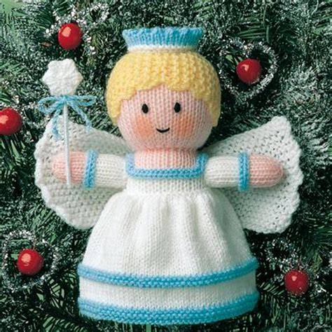knitting pattern christmas tree fairy thoughts from the bus stop knitting