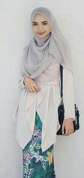 Tunik Batik Asimetris 7 pin by riani amin on kebaya muslim