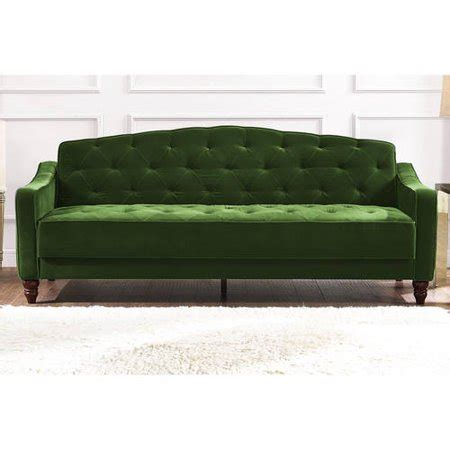 Tufted Sleeper by Vintage Tufted Sofa Sleeper Green Blue Gray Pink