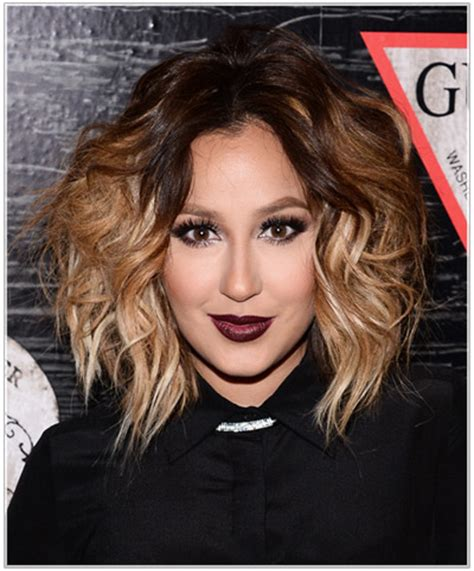 how to add volume to a bob cut adrienne bailon hairstyles