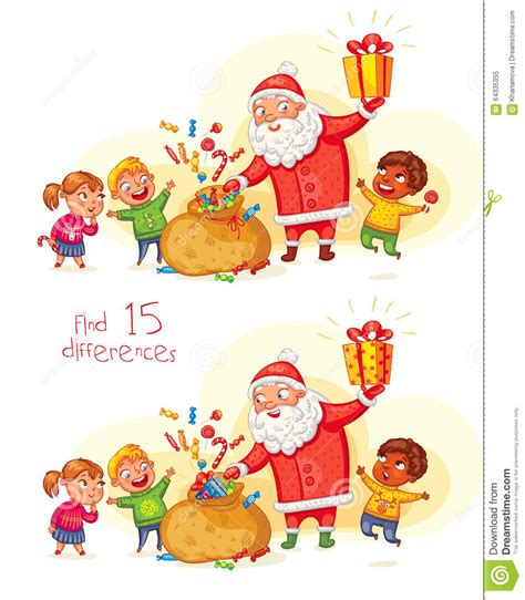 new year character vector santa claus brings gifts to children stock vector image
