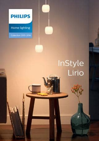 home lighting design philips philips instyle lirio en 2015 2016 by borut jerovsek issuu