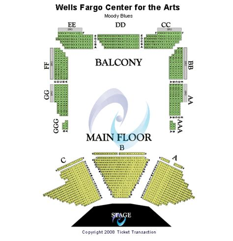 wells fargo center floor plan 2 tickets 2nd row whitesnake 06 02 ebay