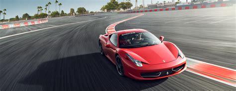 How To Drive A Ferrari 458 by Drive A Ferrari 458 Italia On A Racetrack At Exotics Racing