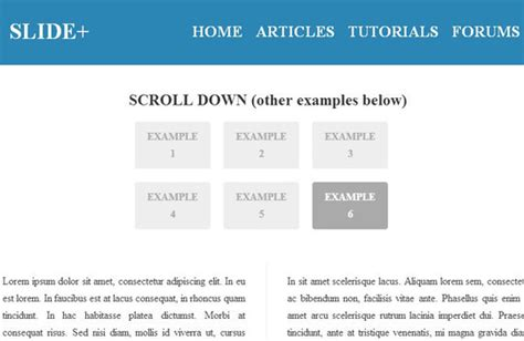 tutorial scroll to jquery awesome jquery plugins tutorials for sticky layer or