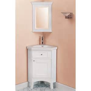 Attractive corner bathroom vanity designs with mirrored