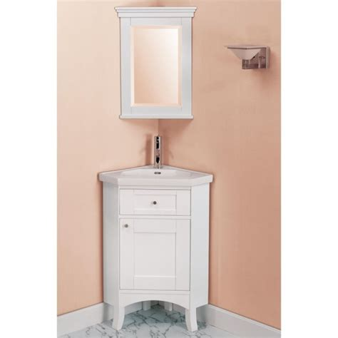 Attractive Corner Bathroom Vanity Designs With Mirrored Corner Bathroom Vanity Cabinet