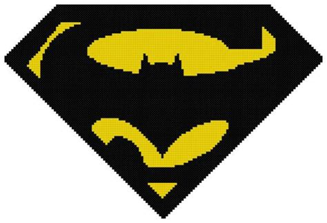 batman logo pony stitching 75 best images about super heroes cross stitch on