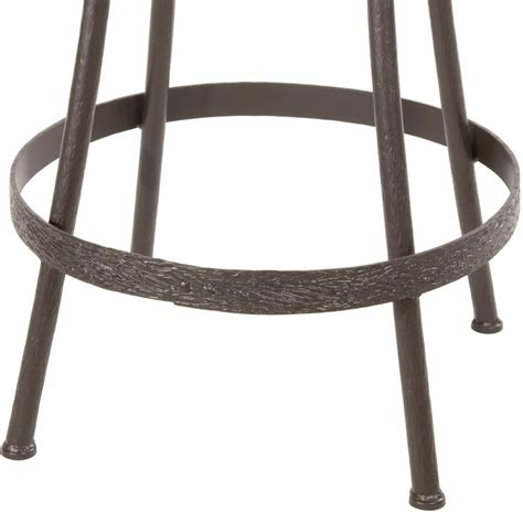 wrought iron backless bench alternative views