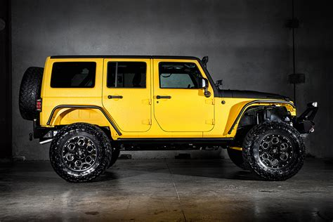 yellow jeep jeep wrangler yellow jacket by starwood motors hiconsumption