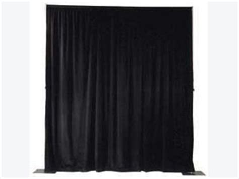 black velour drape 12 ft tall black velour p d special event wedding and
