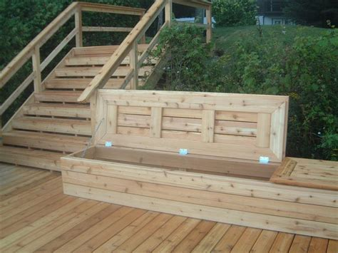 Deck Storage Bench 301 Moved Permanently