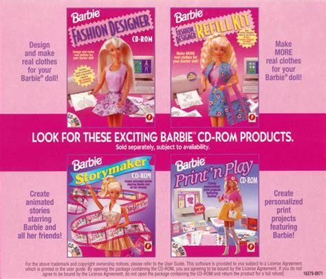 barbie fashion design maker game download barbie fashion designer game 1996 download