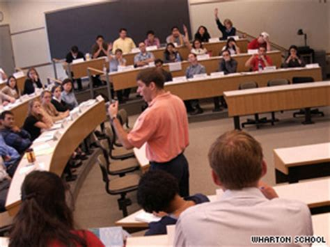 Cost Per Class Wharton Mba by Businesses Find It Pays To Consult Students Cnn