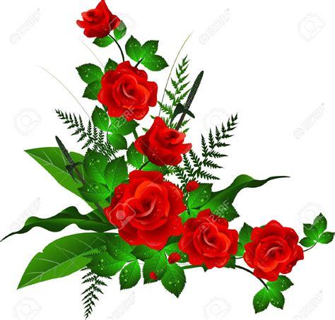design flower rose best rose border 7730 clipartion com